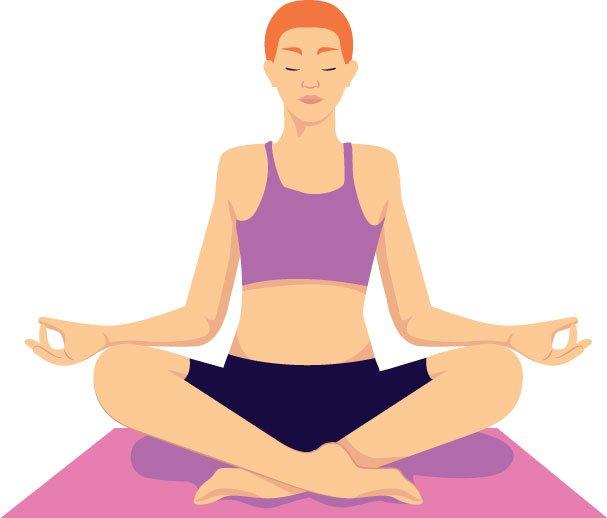 posa da meditazione